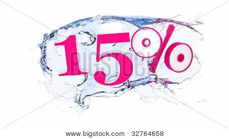 15 percent Summer Sale Or Discount Tags