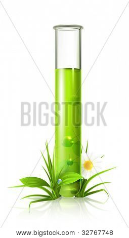 Test tube, bitmap copy