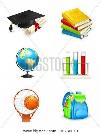 School icons, bitmap copy