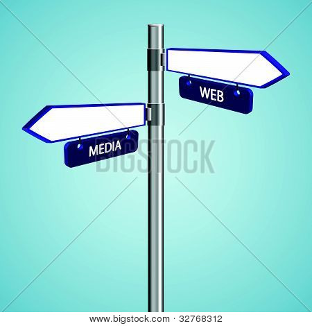 Web And Media Signs