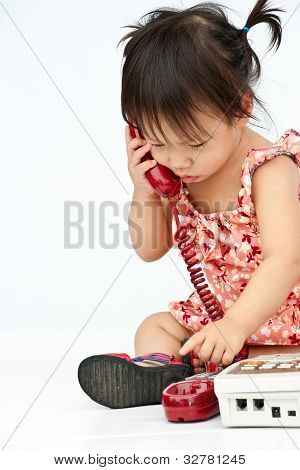 Baby reservieren alt Beige Telefon telefonieren Mom