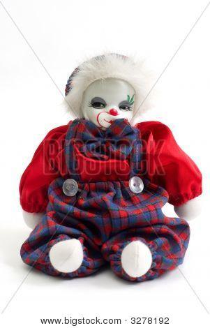 An Isolated Clown Doll