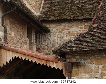 Intersecting Rooflines Of The Cloister