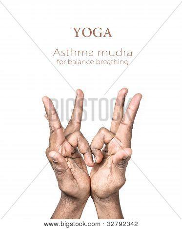 Yoga Asthma Mudra