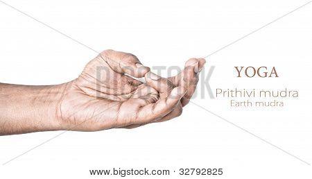 Yoga Prithivi Mudra
