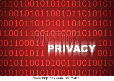 Online Privacy Abstract Background
