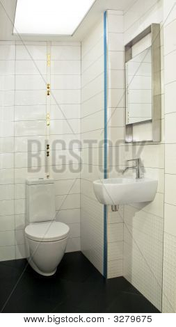 Small Toilet Angle