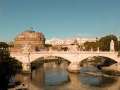Ponte And Castel Sant'angelo