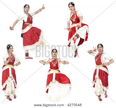 Female Traditional Dancer From India