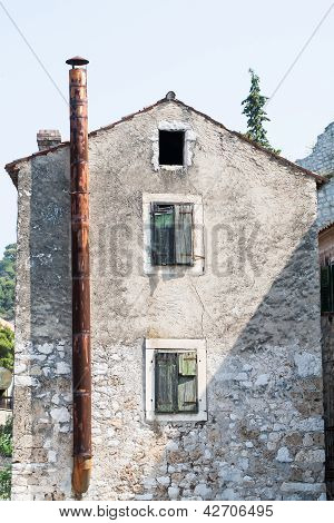 Old Houses In Croatia