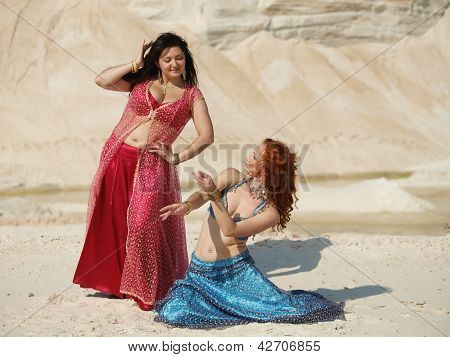 Two Bellydance Dancers