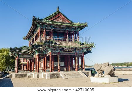Ancient Building In Summer Palace, Beijng
