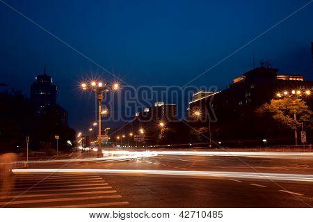 Nightscene At The Street