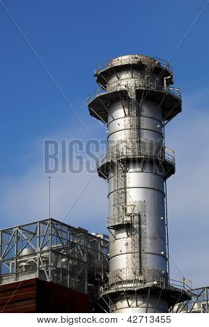 Power Station Of Boroa, Amorebieta, Bizkaia, Spain