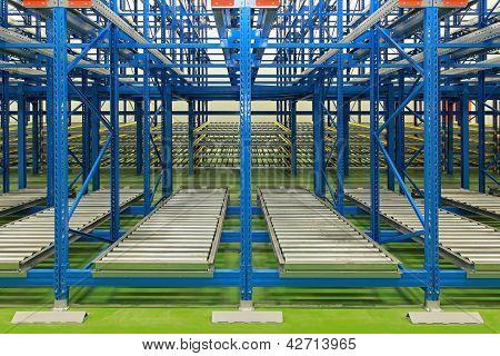 Sistema de armazenamento dinâmico