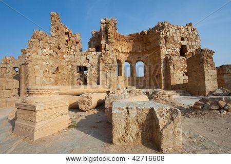 Ruins In Russafa, Syria