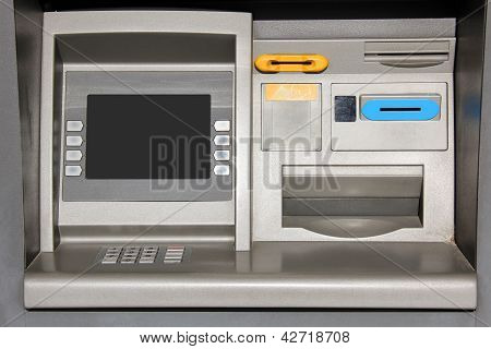 Outdoor Atm Cash Machine