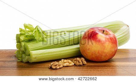 Ingredients For Waldorf Salad