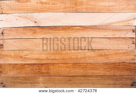Bottom of the wooden box