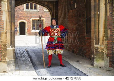 Actor Portrays The Guard