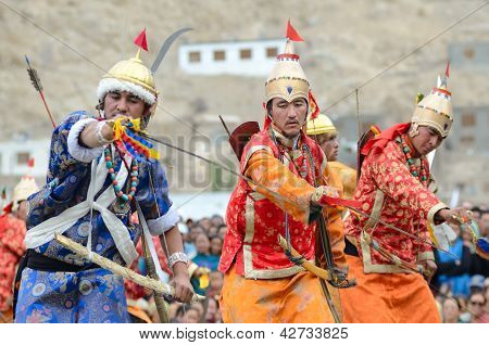 Dancers In Historical Costumes