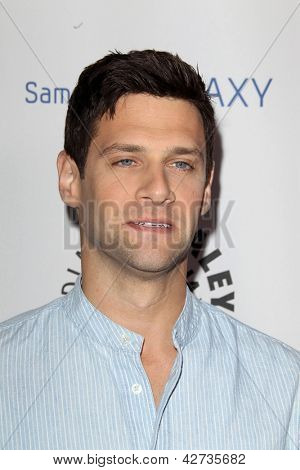 LOS ANGELES - FEB 27:  Justin Bartha arrives at the PaleyFest Icon Award 2013 at the Paley Center For Media on February 27, 2013 in Beverly Hills, CA