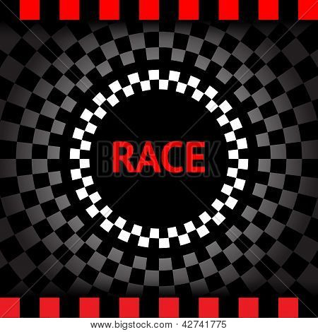 Race-square-black-background