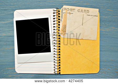 Blank Photo Notebook