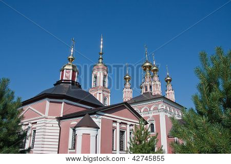 Church Of Archangel Mikhail And Flora And Lavra, City Suzdal, Russia