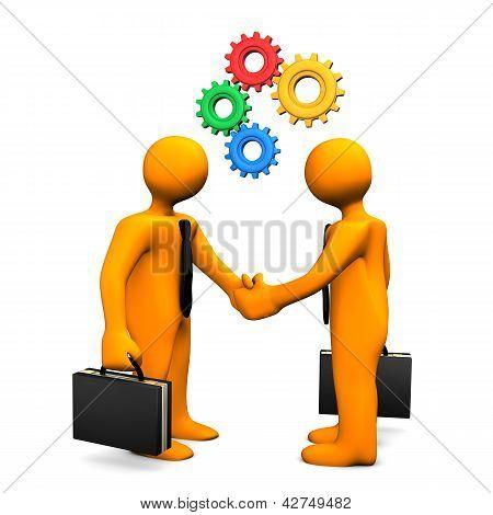 Handshake Gears