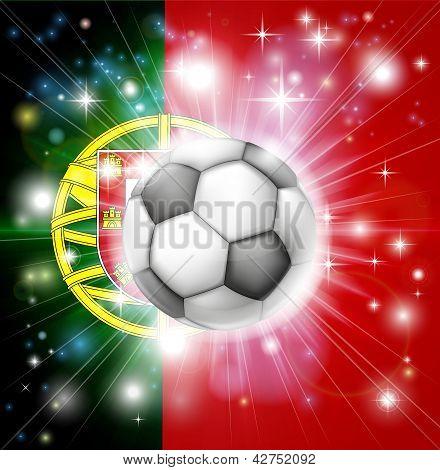 Portugal Soccer Flag