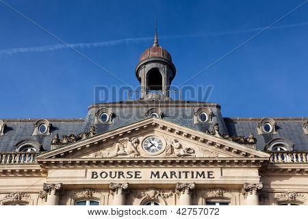 Bolsa marítima, Bordeaux, Gironde, Aquitânia, França