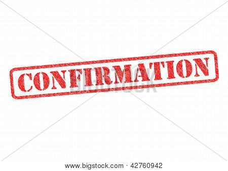 Confirmation Stamp
