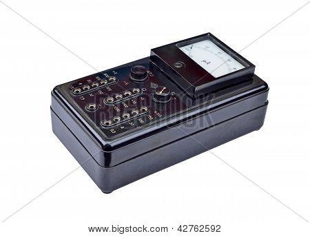 Vintage amperemeter