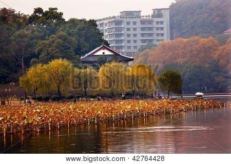 Ancient Chinese House, West Lake Hangzhou Zhejiang China