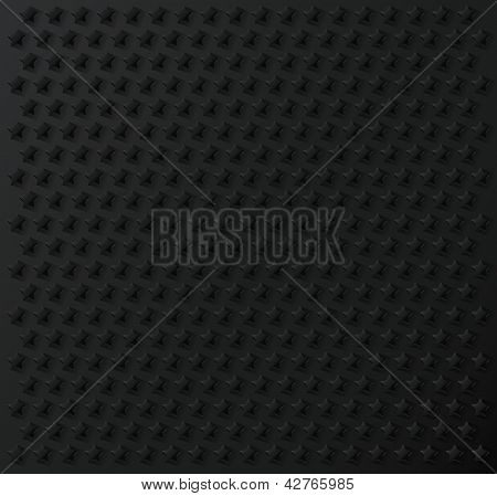 Grey stars geometric pattern texture background