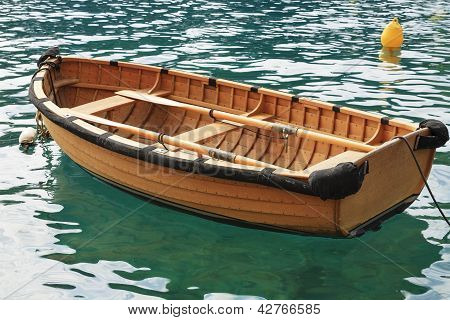 Small Fishing Boat On The Water
