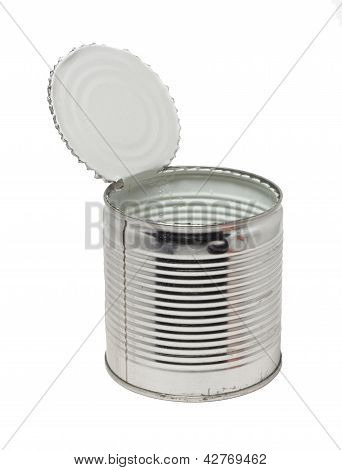 Open Empty Conserve Can