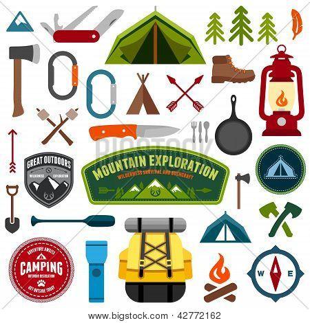 Camping Symbole