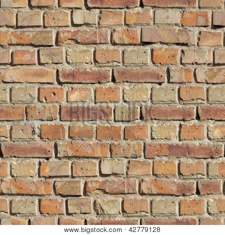 Brick Wall. Seamless Texture.