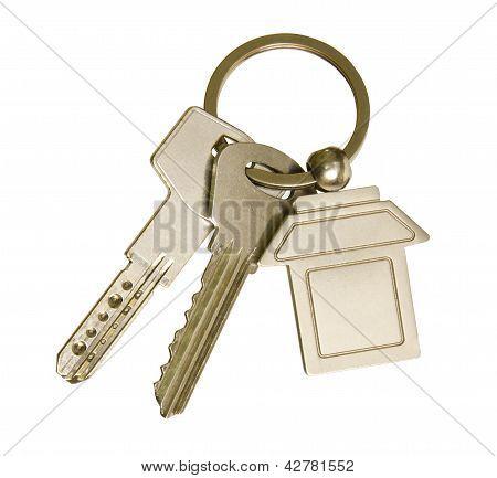 House Keys And Keychain