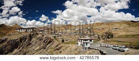 Kibber Village Panorama
