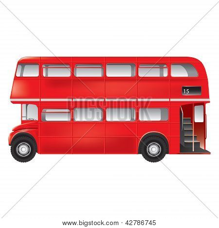 London Symbol  -  Red Bus Icon