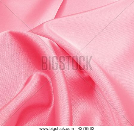 Silk Pink Folds