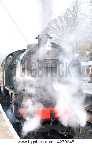 Steamy Steam Train