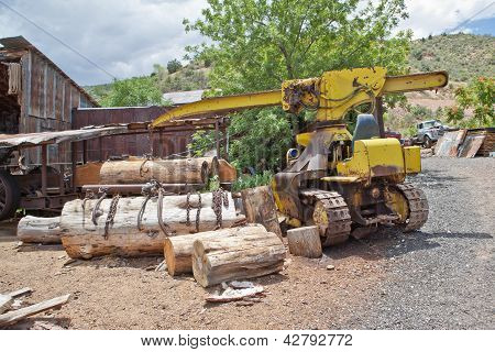 Old Sawmill Equipment
