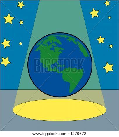 Earth In The Spotlight.