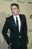 BEVERLY HILLS, CA - JAN. 13: Robert Pattinson arrives at the Weinstein Company's 2013 Golden Globes