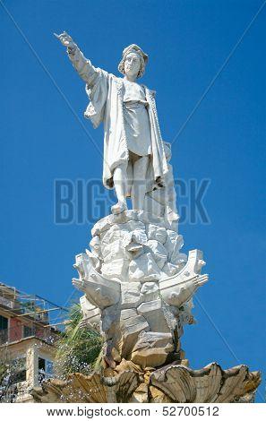 Monument To Christopher Columbus, Santa Margherita Ligure, Italy