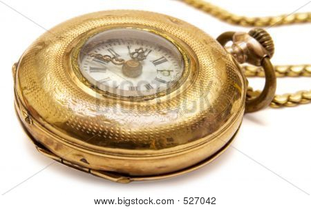 Micro Pocket Watch (Side View)